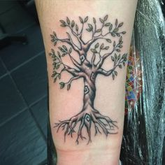 65 Impressive Tree Tattoos – Family Trees , Modern Life Designs