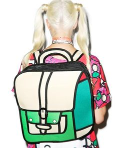 c08f057cc5f5e Time for Recess Cartoon Backpack 2d Backpack