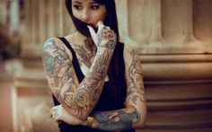 Tattooed Girl Wallpapers  WallpaperPulse 1920×1200 Tattooed Women Wallpapers (41 Wallpapers) | Adorable Wallpapers