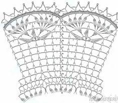 Салфетка,вязанная,крючком,круглая,схема,описание,бесплатно,красивая,ананас,рукоделие,скачать,ажурная