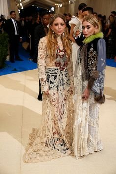 May-Kate and Ashley Olsen in The Row.