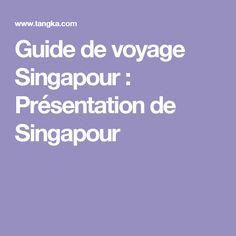 Guide de voyage Singapour : Présentation de Singapour