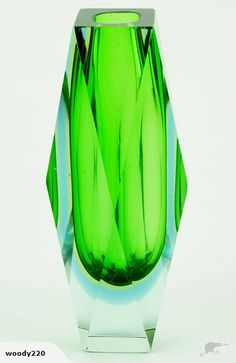 """XL """"STUNNING """" SOMMERSO FACETED VASE 