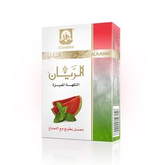 ALRAYAN Premium Flavour Watermelon with Mint Hookah Tobacco.