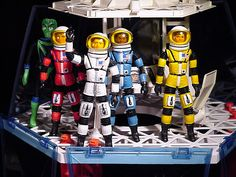 """Drive-In Theater Of The Mind, vintagegeekculture: Mattel's """"Man in Space"""" toy. Vintage Toys 1960s, 1960s Toys, Retro Toys, Gi Joe, Childhood Toys, Childhood Memories, Morning Tv Shows, Dark Planet, Toys In The Attic"""