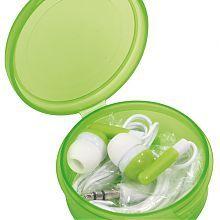 Music fülhallgató, zöld