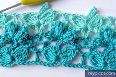 MyPicot | Free crochet patterns~k8~ ༺✿ƬⱤღ https://www.pinterest.com/teretegui/✿༻