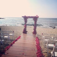 Ainahua florals did an amazing job with our Arch Fairmont Orchid, Kohala Coast, Hawaii Hotels, Fairmont Hotel, Coconut Grove, Hawaii Wedding, Big Island, Orchids, Florals