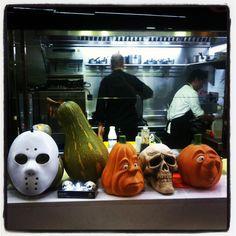 Trabajando en Halloween