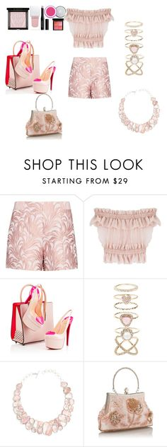 """""""Classic"""" by ladyrageree on Polyvore featuring Exclusive for Intermix, Alexander McQueen, Christian Louboutin, Accessorize, Poppy Jewellery and Givenchy"""