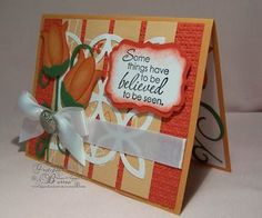 Flower from Stampin Up owl punch