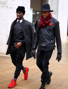 Dapper dudes on the streets of New York during New York Fashion Week. Visit nytimes.com/mensstyle for more men's fashion inspiration. (Photo: Craig Arend for The New York Times)