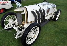 """""""The legendary Blitzen Benz, land speed record setting automobile from 1909 that has been raced by Eddie Rickenbocker and Barney Oldfield"""" : photo justacarguy"""