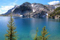 My hike yesterday. Perfection Lake The Enchantments Washington State [OC] [4272x2848]