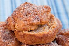 Healthy Cinnamon Crunch Sweet Potato Muffins