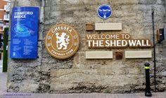 The Shed Wall....Stamford Bridge SW6 - Chelsea Football Club