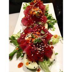 Spicy Tataki de Atum by @chefacasa_sushi #tataki #tuna #chefacasa_sushi #pornfood #sushiparty #sushiporn  by chefacasa_sushi