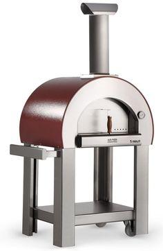 Pizzaoven 5 MINUTI RVS | voor uw buitenhaard, tuinfakkel, buitenverlichting | Tuinhaard specialist