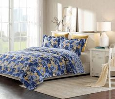Enchanted Printed Quilt Set