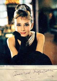 Audrey hepburn - a girl can never have too many pearls