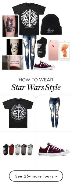 """Outfit of the Day"" by fluffypunkk on Polyvore featuring Converse"