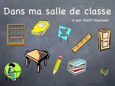 ▶ Dans ma salle de classe - par Alexandre - YouTube