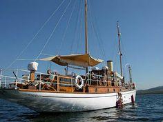 Looks like a classic steam yacht