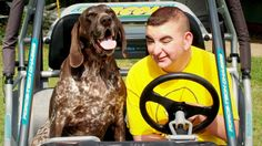 Life can be a joyride with a Saint Francis Service Dog