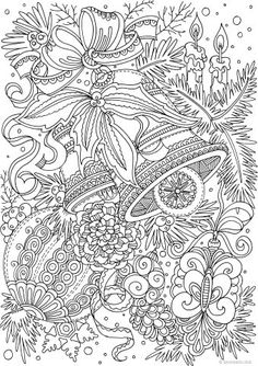 Christmas Joy - Mittens - Printable Adult Coloring Pages from Favoreads Abstract Coloring Pages, Detailed Coloring Pages, Cute Coloring Pages, Flower Coloring Pages, Mandala Coloring Pages, Free Coloring, Coloring Books, Free Christmas Coloring Pages, Christmas Coloring Sheets