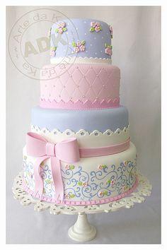 Pretty in Pastels   Wedding Cake