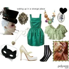 Mad Hatter and Queen of Hearts outfits