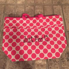 Thirty-One thermal Brand new polka-dot Thirty-One thermal Thirty One Bags Totes