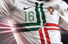 Portugal aim to conquer Euro 2012 in new away shirt. (click on the image to read the full article and see more images)