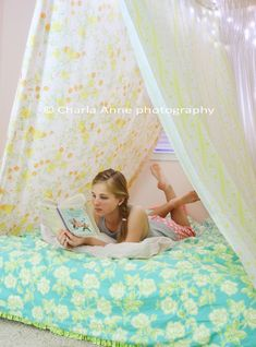 Bedsheet tents - not everything needs to be perfect, just enjoy it.