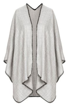 Topshop Blanket Stitch Cape available at #Nordstrom