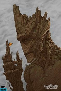 Guardians of the Galaxy-- Groot is epic