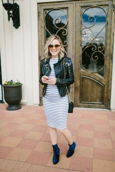 How to feel and look good during your pregnancy   Bodycon maternity dress   Maternity outfit   Maternity Style   Uptown with Elly Brown