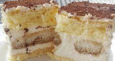 Tiramisu szelet mascarponéval és babapiskótával. A népszerű olasz desszert sütemény változata. Próbáld ki, garantáltan imádni fogod!