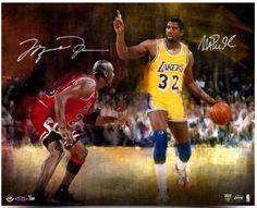 3a5eec2f697c26 Magic Johnson Autographed Los Angeles Lakers 16x20 Photo