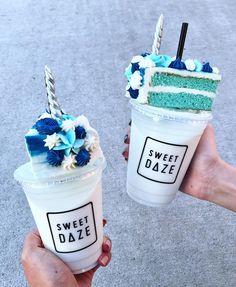 Cute Food, Smoothie, Sydney Cafe, Milkshakes, Yummy Treats, Yummy Food, Delicious Desserts, Sorvete Tumblr, Recette Milk Shake