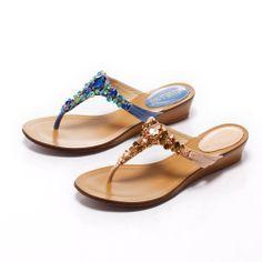 2-2500 Fair Lady 閃耀光芒楔型寶石涼鞋 橙 - Yahoo!奇摩購物中心 Fair Lady, Yahoo, Sandals, Shoes, Fashion, Shoes Sandals, Zapatos, Moda, Shoes Outlet