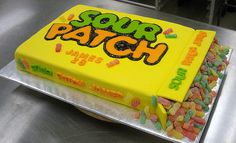 Sour Patch Cake.  With absolutely no exaggeration, this might be the best cake ever made.