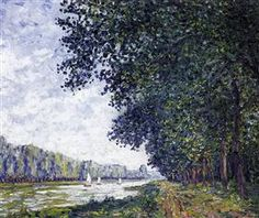 Banks of the Orne at Benouville - Francis Picabia