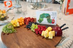 Image result for very hungry caterpillar cheese platter