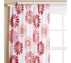 Fresh as a Daisy Curtain Panels (Pink)  $29.00 - $39.00