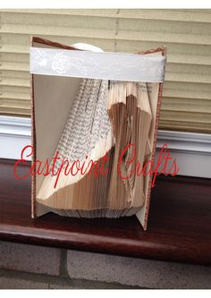 Kissing Bride and Groom Book Folding PATTERN