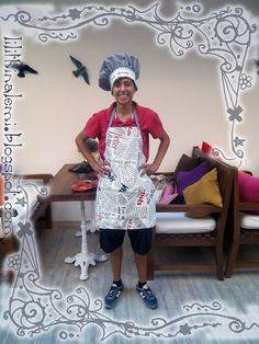 Apron and shef hat