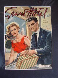 Home - Collezione OnLine Vintage Romance, Vintage Art, Comic Book Covers, Comic Books, Grande Hotel, Romance Comics, Commercial Art, Vintage Advertisements, Nostalgia