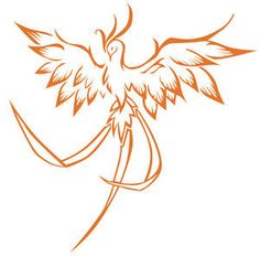small phoenix tattoo   hate big tattoos like tattoo-shirts :x