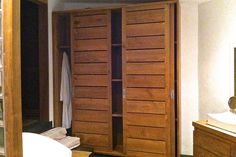 Our recycled teak bathroom furniture